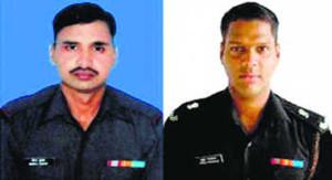 Naik Neeraj Kumar Singh and Major Mukund Vardarajan