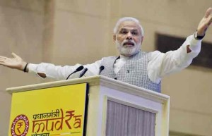 Narendra Modi Launches MUDRA BANK