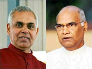 Ram Nath Kovind and Acharya DevVrat