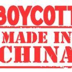 चिनी वस्तूंवर बहिष्कार घाला