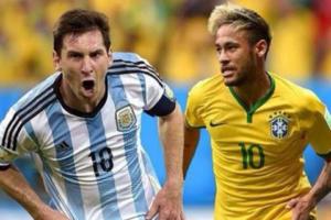 बलाढ्य ब्राझीलचा अर्जेटिनावर विजय